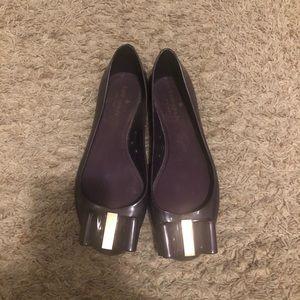 kate spade Shoes - Kate spade purple jelly flats - size 10